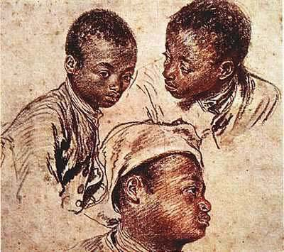 Three Negro Boys