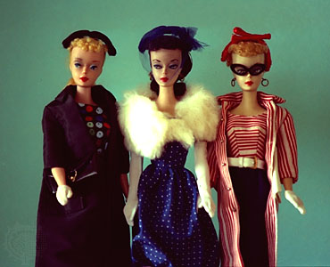 Barbie 1959 - original 3 dolls