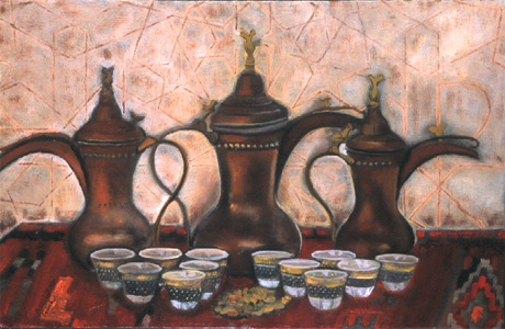 Bedouin coffee