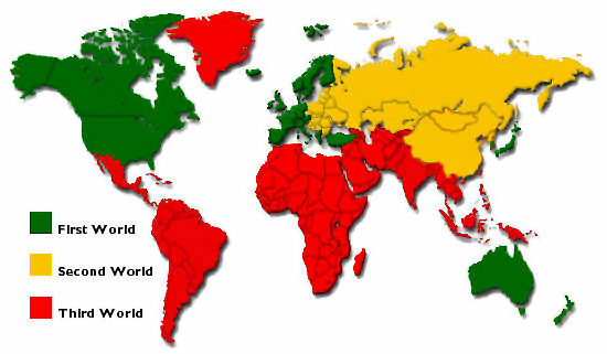 Third World The Book Of Threes - Poorest countries in the world map