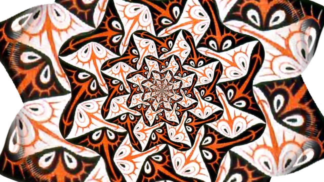 MC Escher Fish Pattern