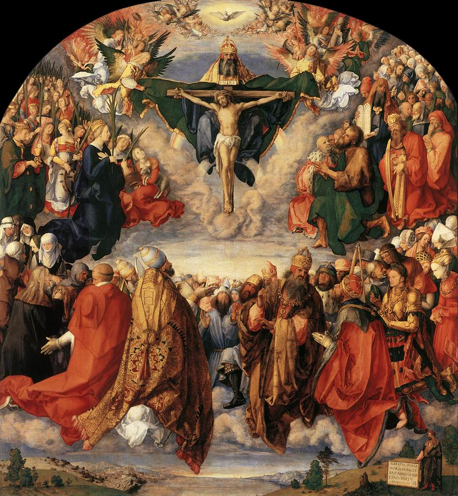 Adoration of the Trinity