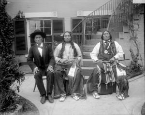 Buffalo Meat, Three Fingers, Wolf Robe – Southern Cheyenne – 1895
