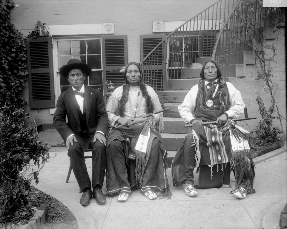 Buffalo Meat, Three Fingers, Wolf Robe – Southern Cheyenne – 1895