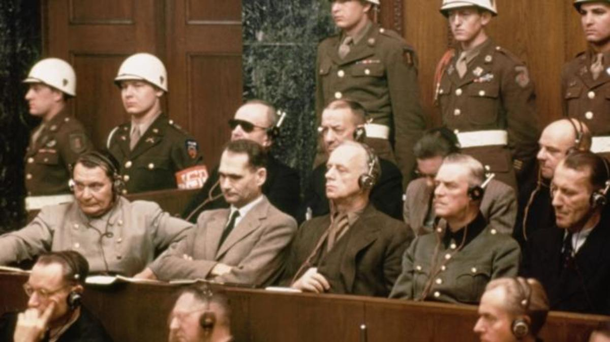 The Nuremberg Trials- three different types of crimes