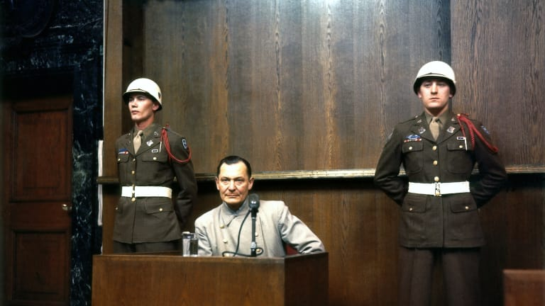 Goering on trial