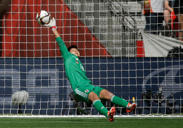 World cup - goalie misses for third goal