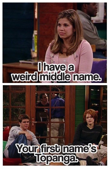 Middle names