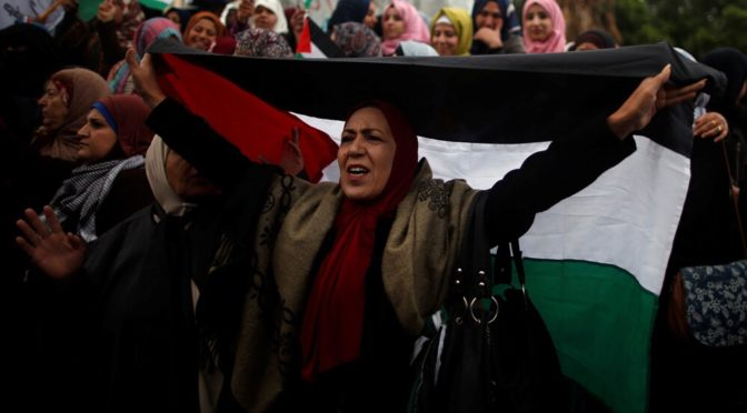 Palestinians Declare Three 'Days of Rage' Across West Bank; Arab World Outraged