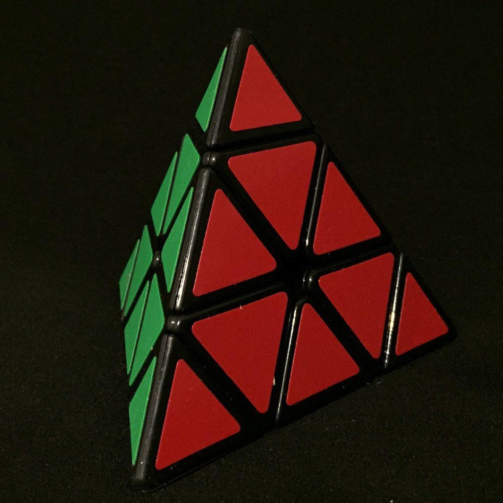 Tetrahedron puzzle