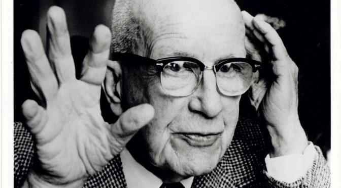 Buckminster Fuller explains threeness in the Universe