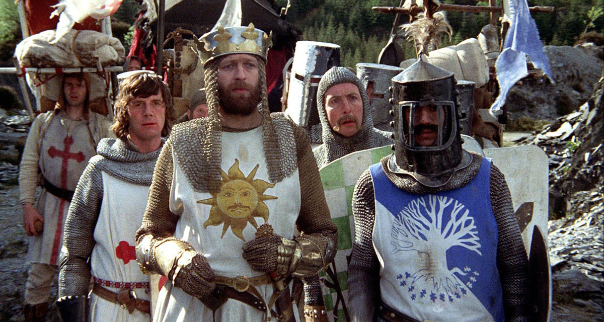 Monty Python and the Holy Grail – Bridge – Three Questions – The Book of  Threes