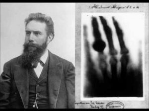 Wilhelm Conrad Röntgen raggi X