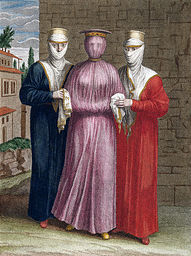 Engraving of Three Armenian Women After Jean-Baptiste van Mour