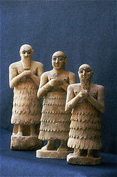 Statuettes of Three Male Worshipers