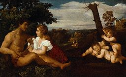 Three Ages of Man After Titian