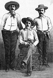 Three Cowboys In Print Article