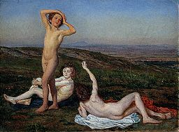Three Naked Boys by Alexander Ivanov