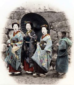 Three Women and a Girl sm