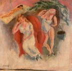 Composition with Three Women Pascin, Jules sm