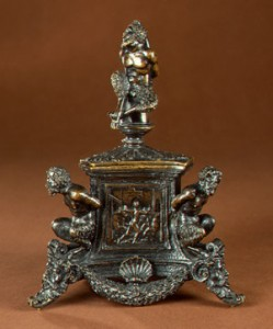 Inkstand with Bound Satyrs and Three Labors of Hercules, c. 1530-1540