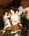 Lady Cockburn and her Three Eldest Sons, Reynolds, Sir Joshua 1773 sm