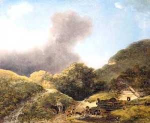 Landscape with Three Washerwomen sm