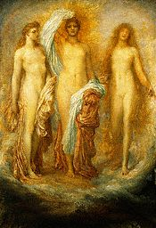 Olympus on Ida by George Frederick Watts