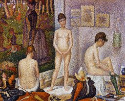 The Models by Georges Seurat