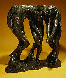 The Three Shadows by Auguste Rodin