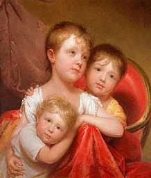 Three Children by Rembrandt Peale