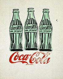 Three Coke Bottles by Andy Warhol