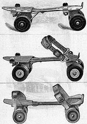 Three Different Kinds of Roller Skates