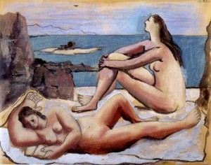 three bathers picasso